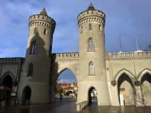 Portas de Nauen, Potsdam, Alemanha imagens de stock royalty free