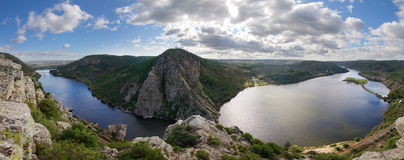 Portas de Rodao panorama view Royalty Free Stock Image