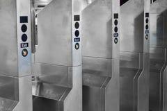 Portas de saída do metro Imagens de Stock