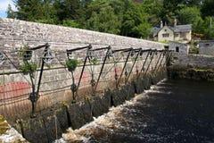 Portas de Sluice, frota do Loch Imagens de Stock Royalty Free