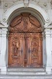 Portas de um templo. Fotos de Stock Royalty Free