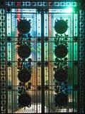Portas de vidro Foto de Stock