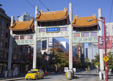 Portas do bairro chinês Fotografia de Stock