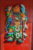 Portas do brinde de Enshi do deus Imagem de Stock