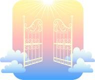 Portas do céu/eps ilustração royalty free