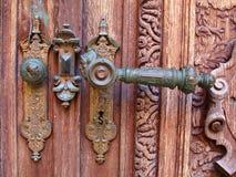 Portas do castelo de Peles foto de stock