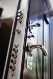 Portas do metal da entrada foto de stock royalty free