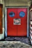 Portas do teatro da casa de filme Imagem de Stock Royalty Free