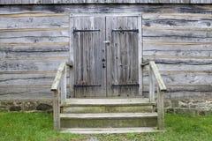 Portas dobro Imagens de Stock Royalty Free