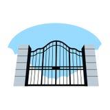 Portas dos céus ilustração stock