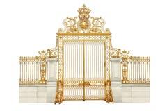 Portas douradas Imagem de Stock Royalty Free