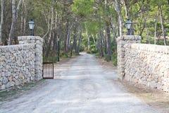 Portas Drystone fotografia de stock royalty free