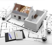Portas e janelas à casa Isolamento da energia Imagem de Stock Royalty Free