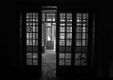 Portas e janelas Fotografia de Stock