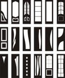 Portas interiores Imagem de Stock