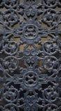 portas magníficas do ferro forjado, forjamento decorativo, eleme forjado imagem de stock