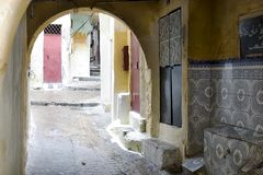 Portas marroquinas 4 Fotografia de Stock Royalty Free