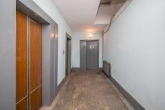 portas modernas do elevador Imagem de Stock