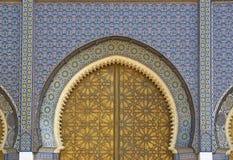 Palácio marroquino imagem de stock