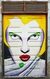 Portas pintadas Fotografia de Stock Royalty Free
