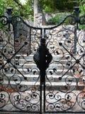 Portas pretas Fotos de Stock Royalty Free