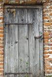 Portas retros fechados Fotografia de Stock