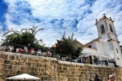Portas robi zolu punktowi widzenia w Lisbon fotografia stock