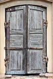 Portas timeworn velhas. Fotos de Stock Royalty Free