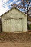 Portas velhas da garagem Imagens de Stock