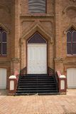 Portas velhas da igreja foto de stock royalty free