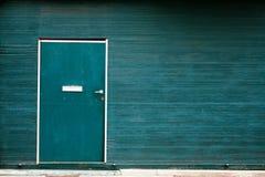 Portas verdes Fotografia de Stock