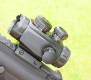 Portata del fucile immagini stock