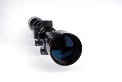 Portata del fucile Fotografie Stock