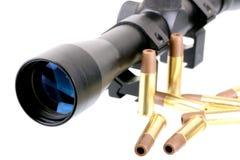 Portata e pallottole fotografia stock libera da diritti