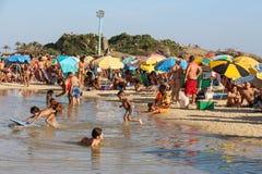 Portate termiche 44 di sensazione centigrado 5 gradi in Rio de Janeiro Immagini Stock
