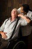 Portatori di handicap uditivo immagine stock libera da diritti