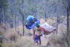 Portatori di Lombok Immagini Stock