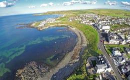 Portballintrae Co 安特里姆北爱尔兰 免版税库存照片