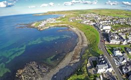Portballintraeco Antrim Noord-Ierland royalty-vrije stock foto's