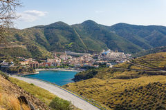Portbou Photo stock