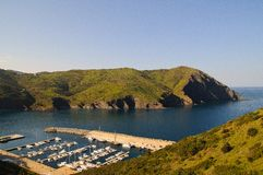 Portbou Stock Photo