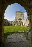 Portchester Castle royalty free stock photo