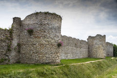 Portchester Castle, Portsmouth, England Stock Photos