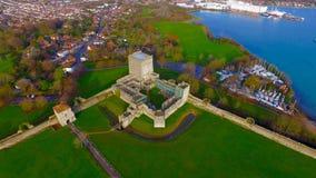 Portchester kasztel Zdjęcie Royalty Free