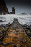 Portcoon海湾,北爱尔兰 免版税库存图片