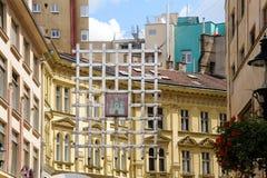 Portcullis πυλών της Μπρατισλάβα Laurinc Στοκ εικόνες με δικαίωμα ελεύθερης χρήσης