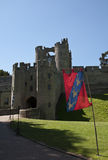 The portcullis and gate house at Warwick Castle Stock Images