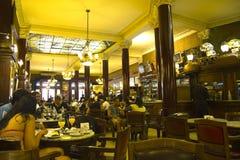 Porteño καφέ στοκ φωτογραφίες