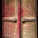 Porte à Katmandou photographie stock libre de droits