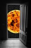Porte à l'espace illustration de vecteur